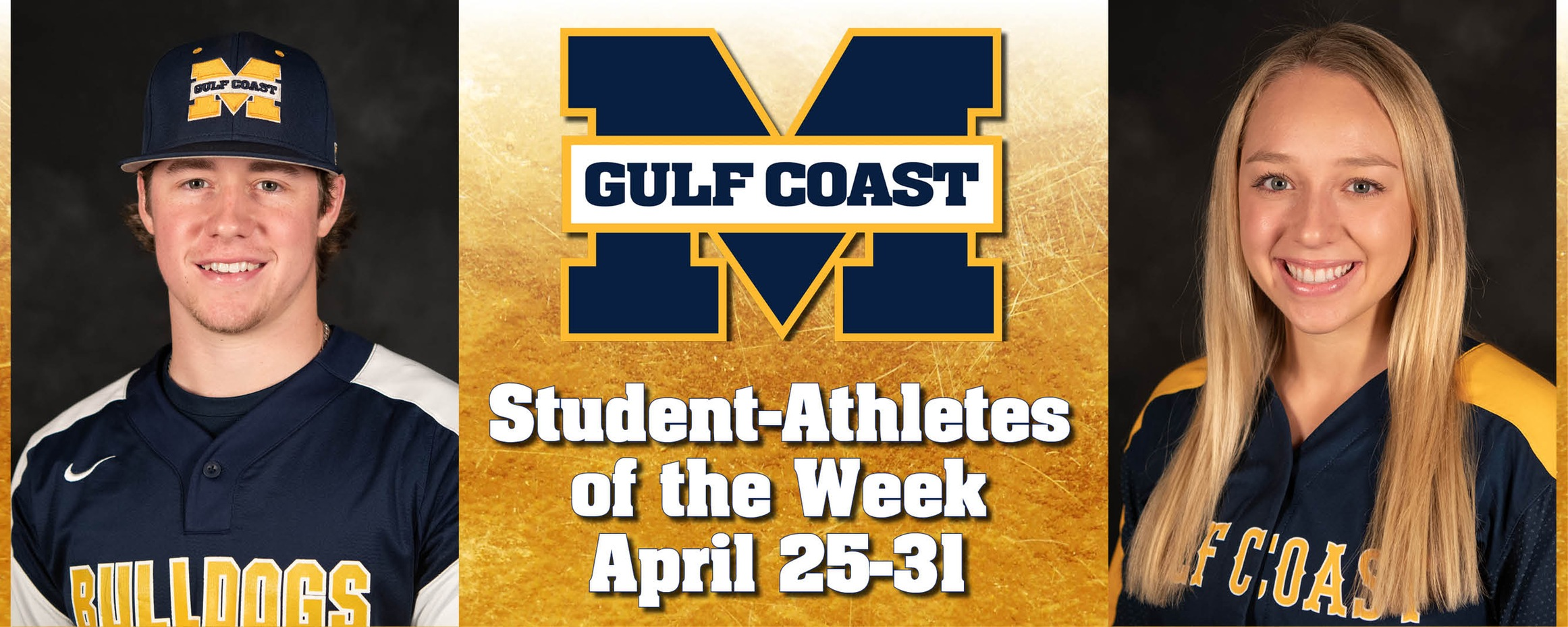 Hancock, Sanders named MGCCC Student-Athletes of the Week