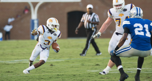 Golden Eagles claim character-testing, 30-27 comeback victory at Hampton