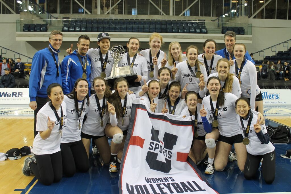FINAL  2017 U SPORTS Women's Volleyball Championship Presented By Jason Rinaldi: Thunderbirds claim 11th championship in program history with 3-1 triumph over rival Pandas