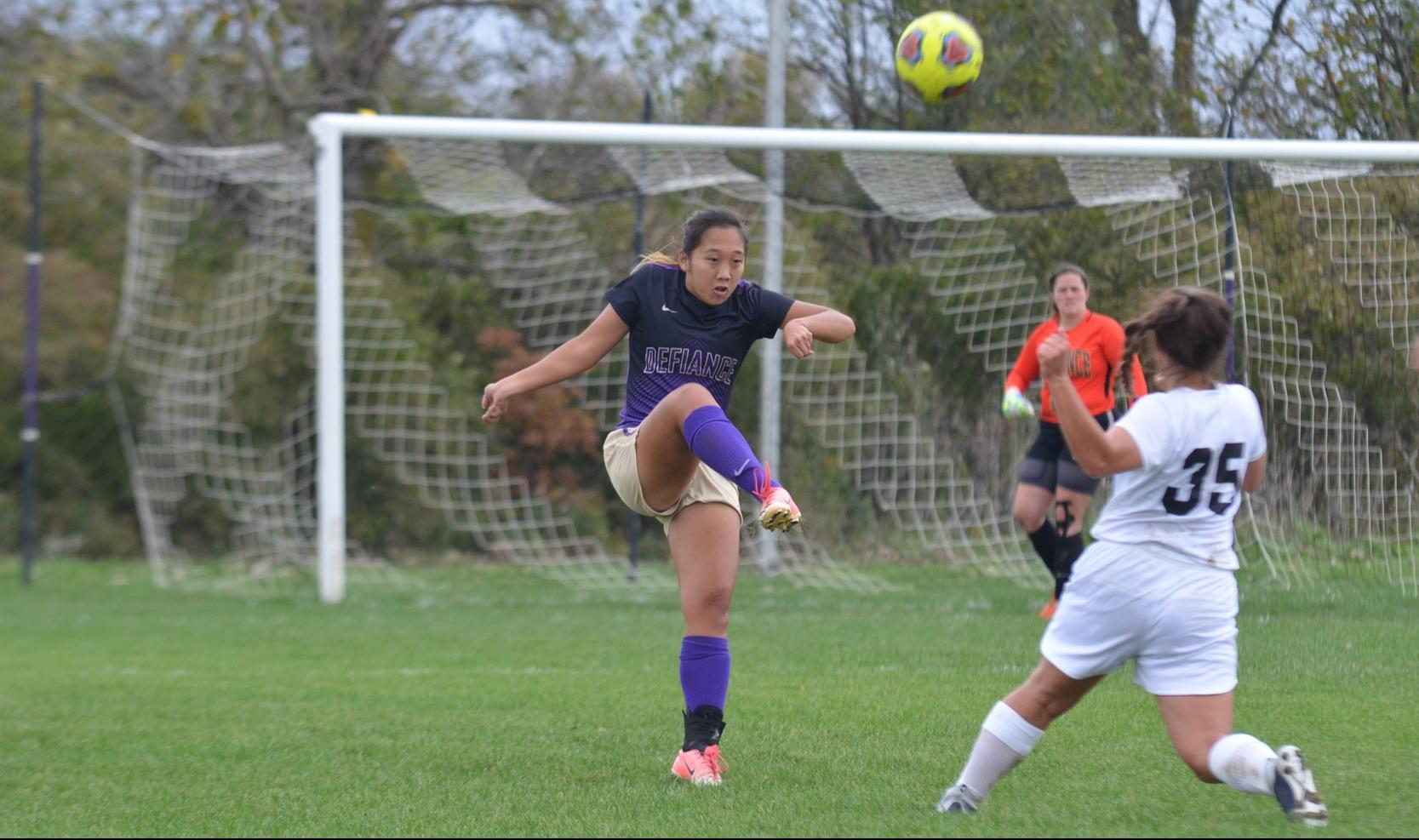Women's Soccer Hosts Mt. St. Joseph in Final Home Contest