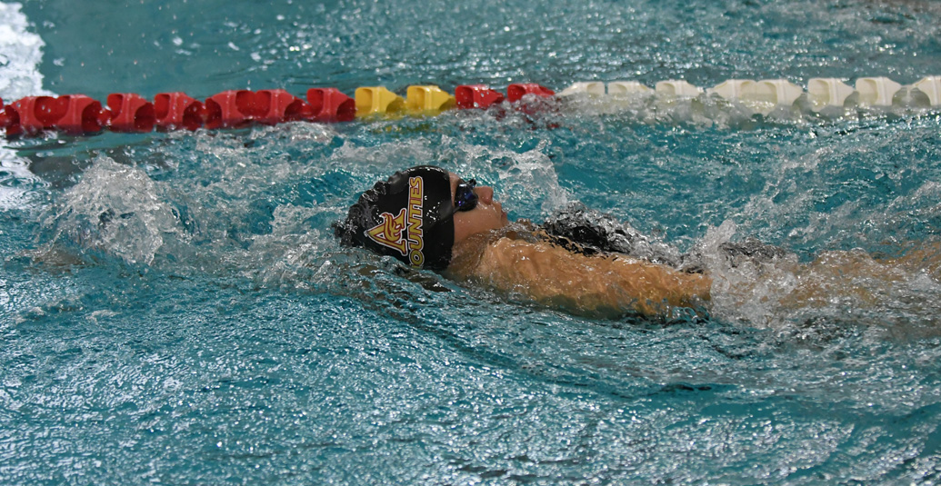 Mounties open AUS swim season at Acadia