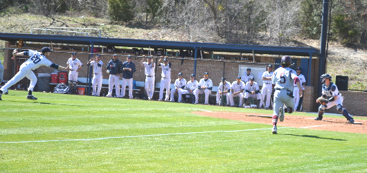 Baseball falters against No. 22 Trinity University; Dallas drops Game 1 on Saturday, 12-1, and falls in Game 2 on Sunday, 5-0, at Crusader Field