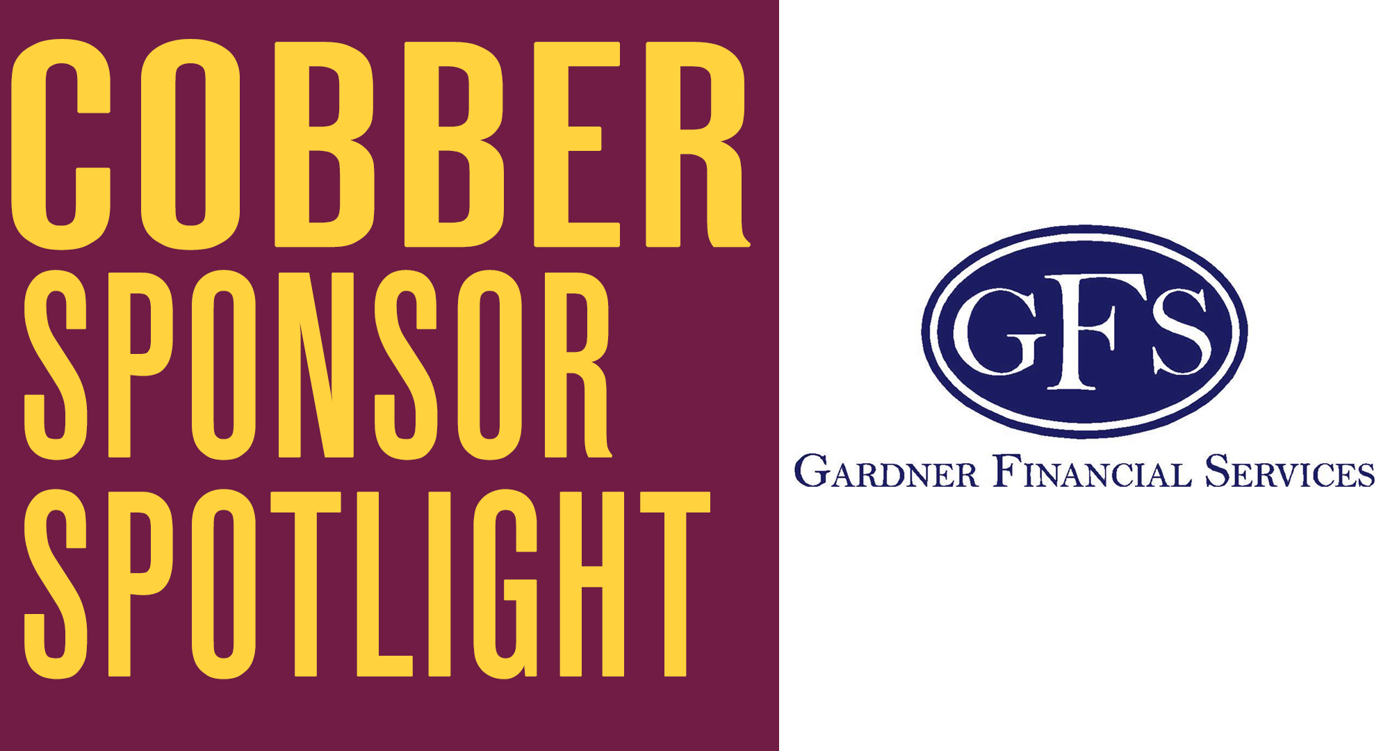 Cobber Sponsor Spotlight - Gardner Financial Services