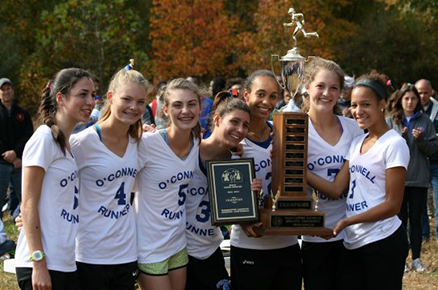 2015 Girl's Cross Country Champions Bishop O'Connell