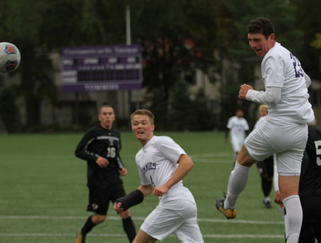 Bounce-back day for Men's Soccer in 5-1 win