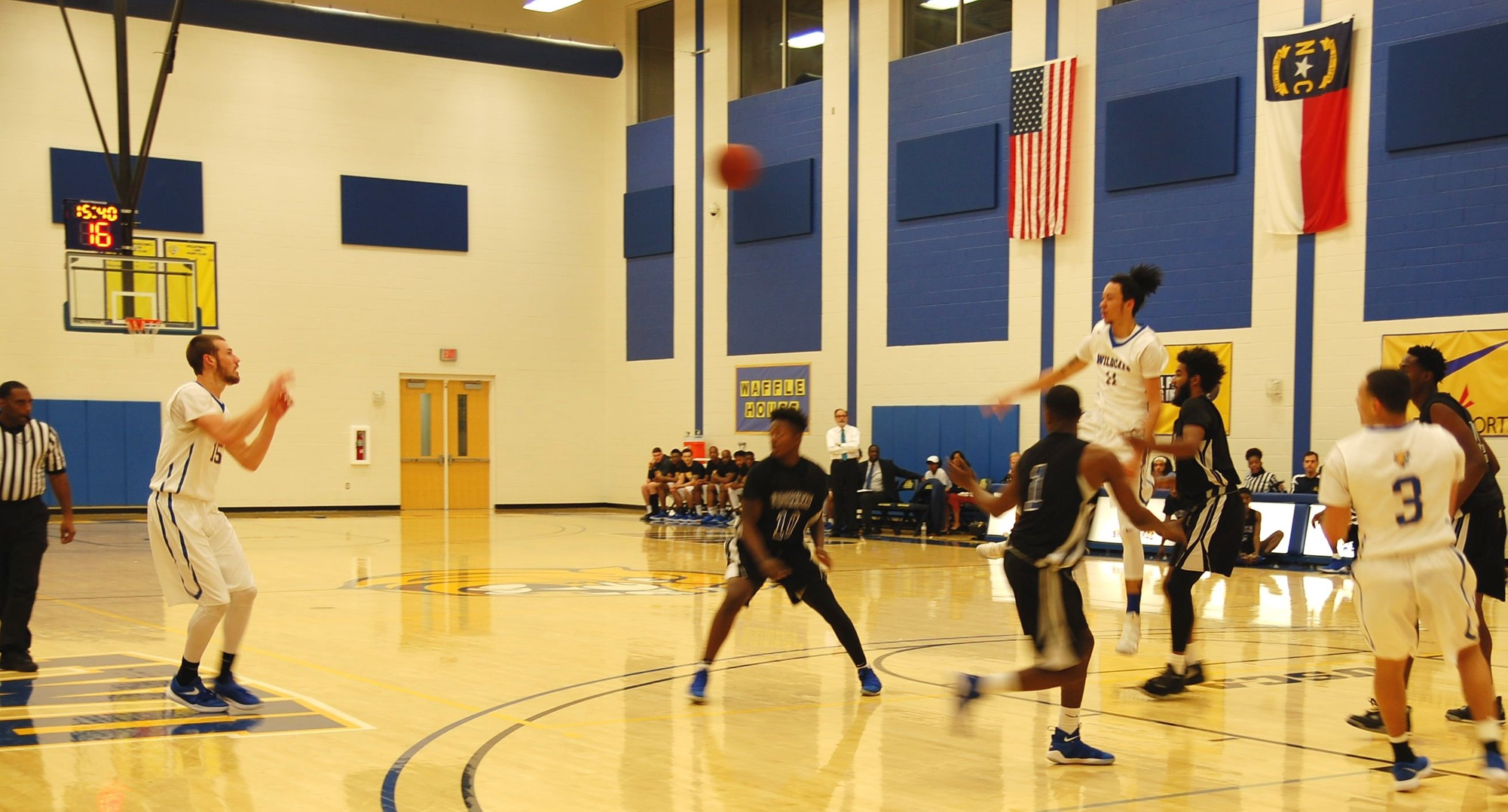 Men's Basketball Suffers 97-90 Loss to Voorhees