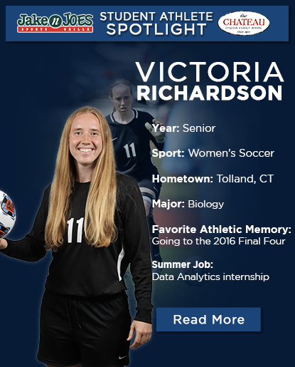 Brandeis Student-Athlete Spotlight: Victoria Richardson '20, Women's Soccer