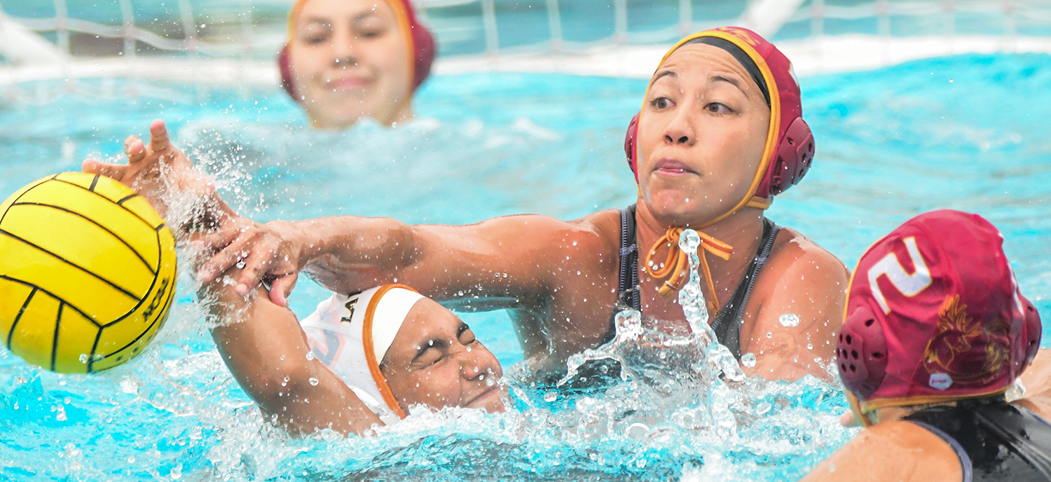Roxy Kiessling scored three goals in the Athenas 9-4 victory over Redlands on Saturday morning. (photo credit: Alicia Tsai)