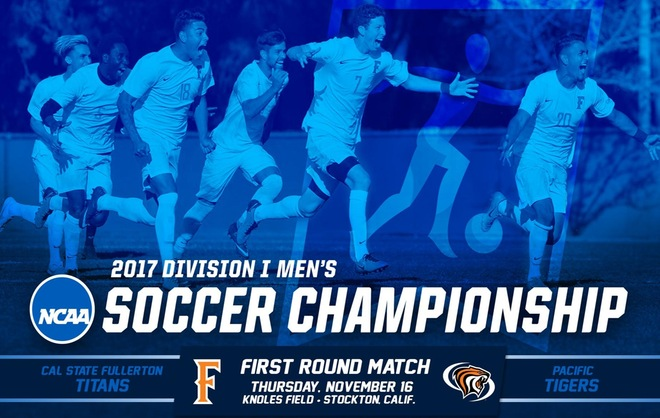 Fullerton to Face Pacific in Round One of the NCAA Tournament