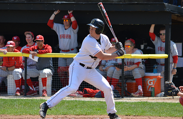 Pair of Grand Slams Lead Tigers to Game 1 Win; DePauw and Ravens Split Twinbill