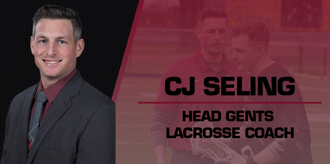 CJ Seling Named Permanent Head Gents Lacrosse Coach