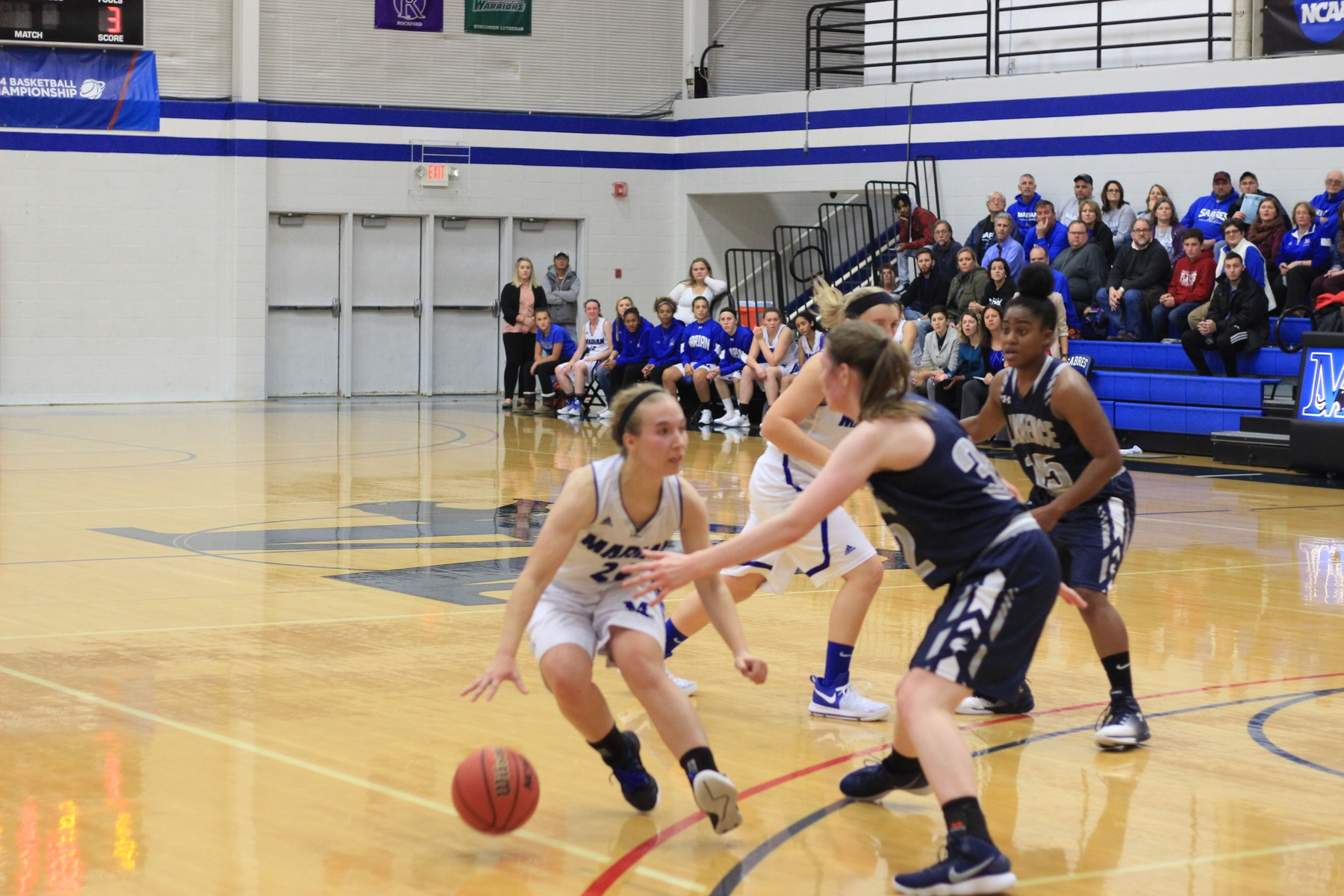 Dominant defense leads Marian women's basketball past Mount Mary