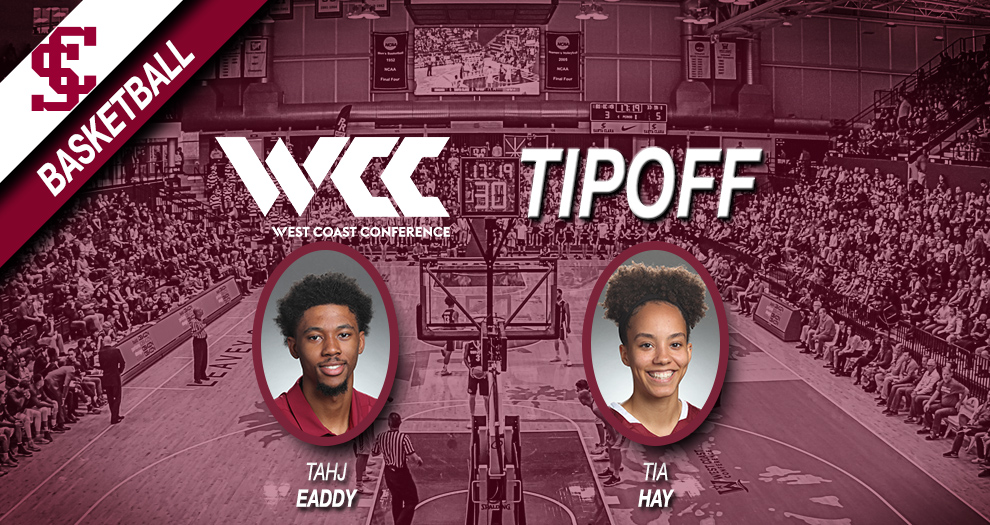 Men's and Women's Basketball Off To WCC Basketball Tipoff