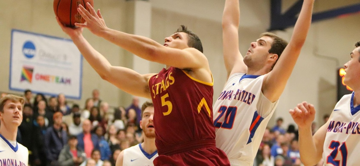 CMS Men's Basketball Rallies But Comes Up Short at No. 16 Pomona-Pitzer