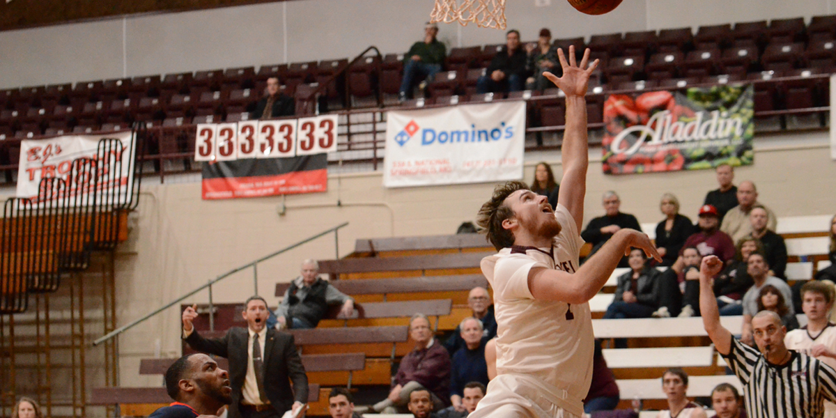 Second Half Rally Pushes Men's Basketball Past Baker, 90-81