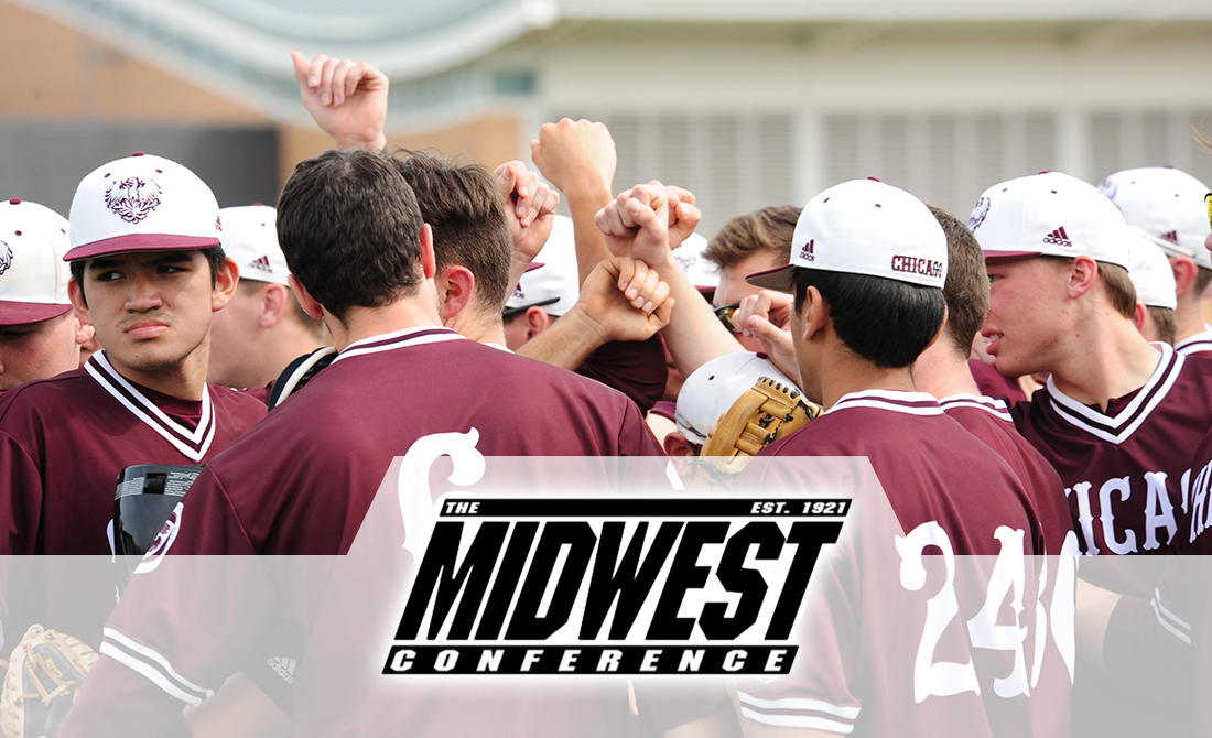 UChicago Baseball Set to Join Midwest Conference as Affiliate Member in 2018-19