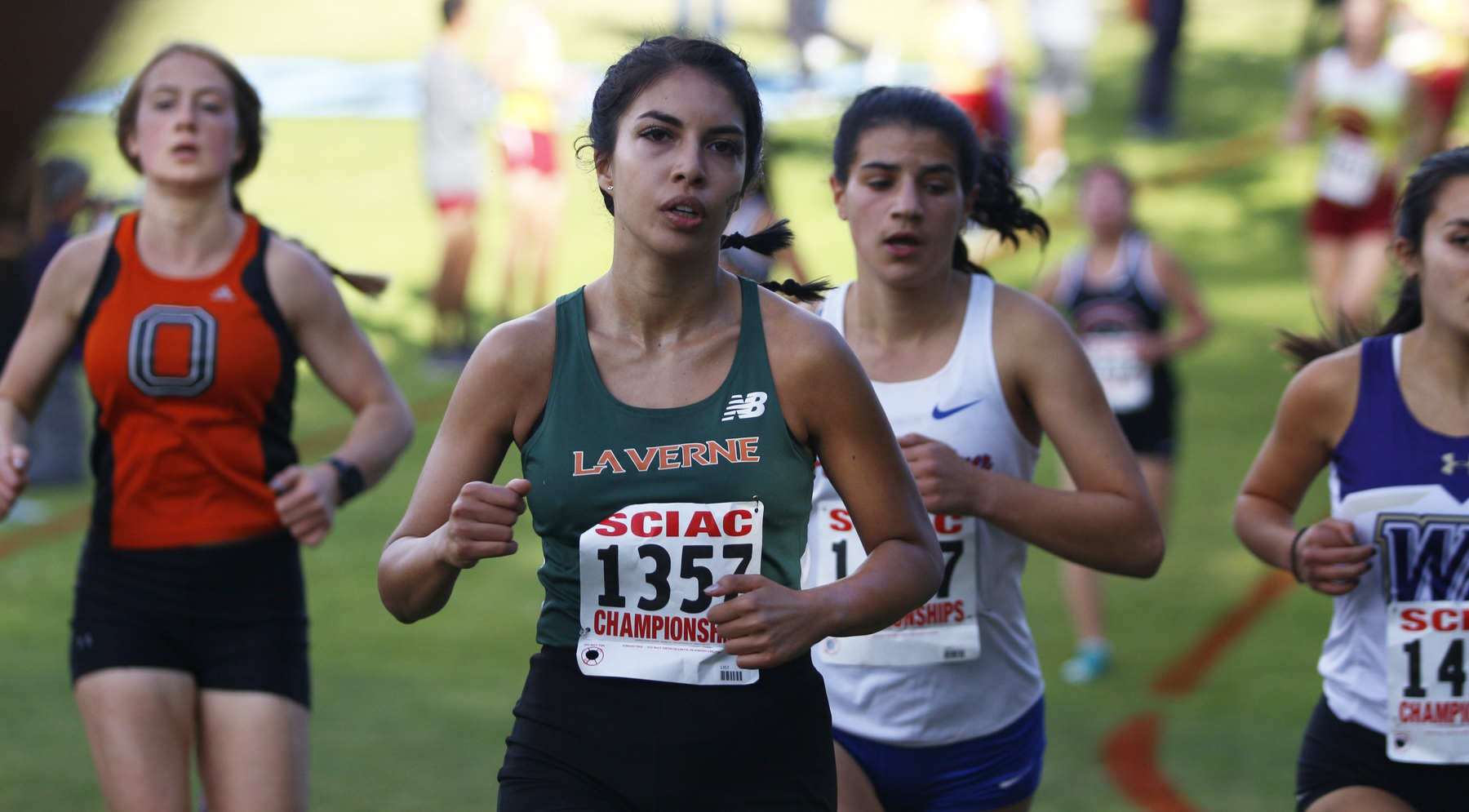 Posada, Pages Lead WXC at SCIAC Championships
