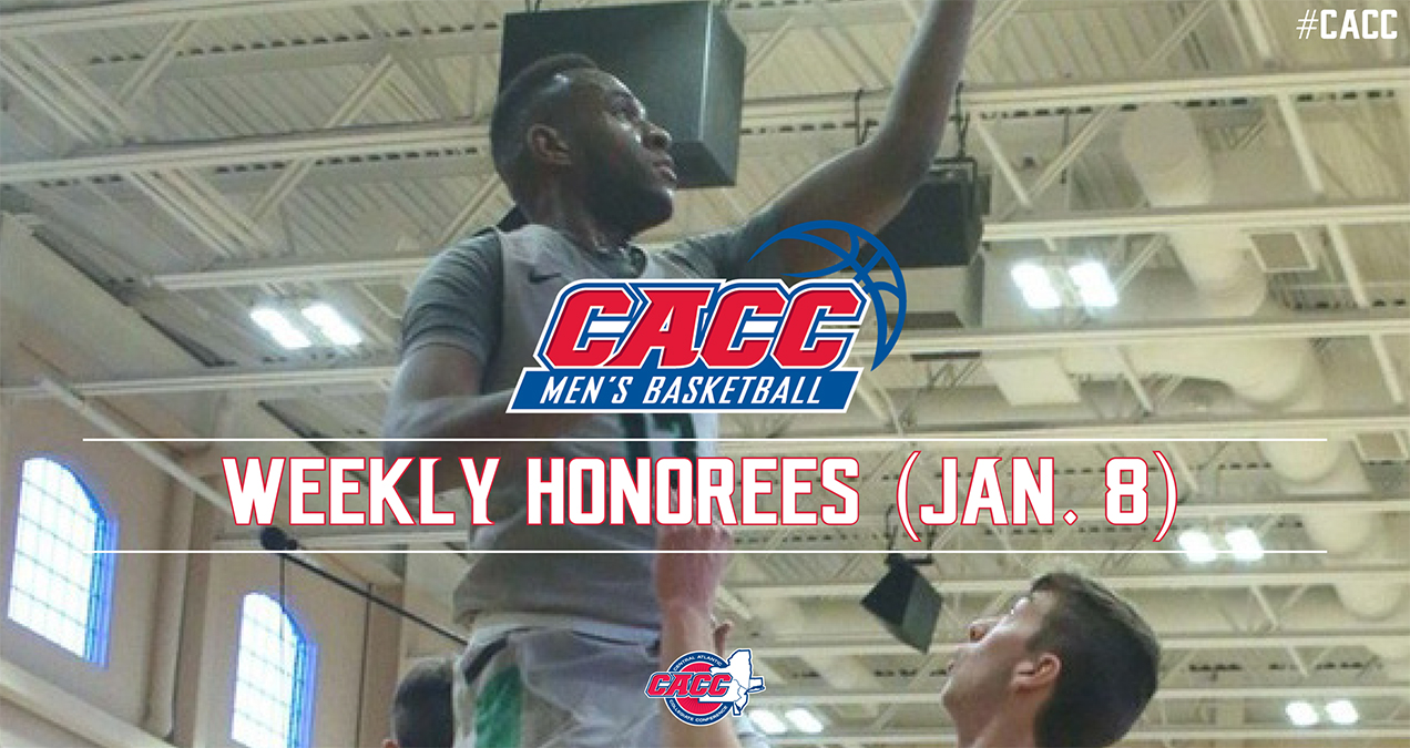 CACC Men's Basketball Weekly Honorees (Jan. 8)