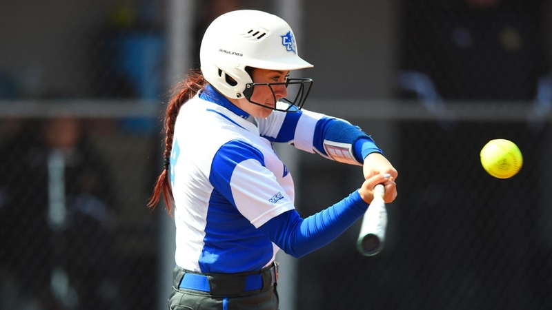 Softball Splits at Under Armour Showcase, Earns Walk-Off Win Over Rider