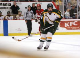 Mike Santorelli Named To CCHA All-rookie Team