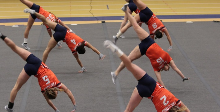 Acrobatics and Tumbling competes against Oregon
