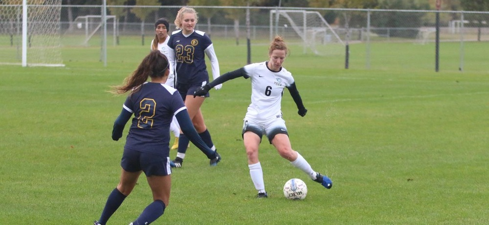 Brightman scores two goals as Tigers trounce Mount Marty