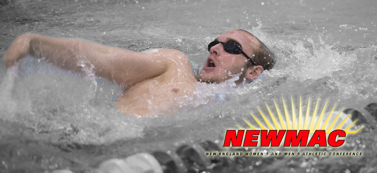 Von Heeringen Earns NEWMAC Men's Swimmer of the Week Honors