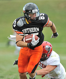 Ohio Northern receiver Dan Priest