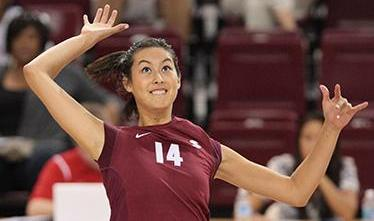 Volleyball's Schmidt Awarded NCAA Post-Graduate Scholarship