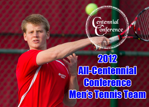 Junior Will Golinkin was named First-Team All-Centennial Conference, announced on Thursday<BR>