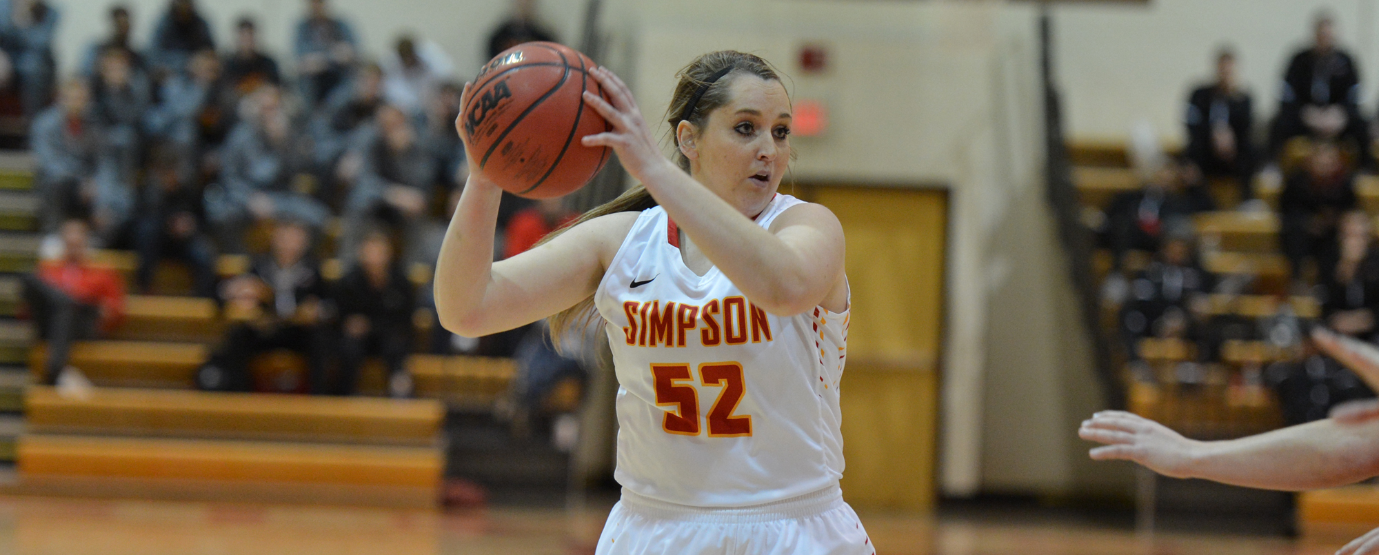Morrow's double-double propels Storm to big win over Iowa Wesleyan