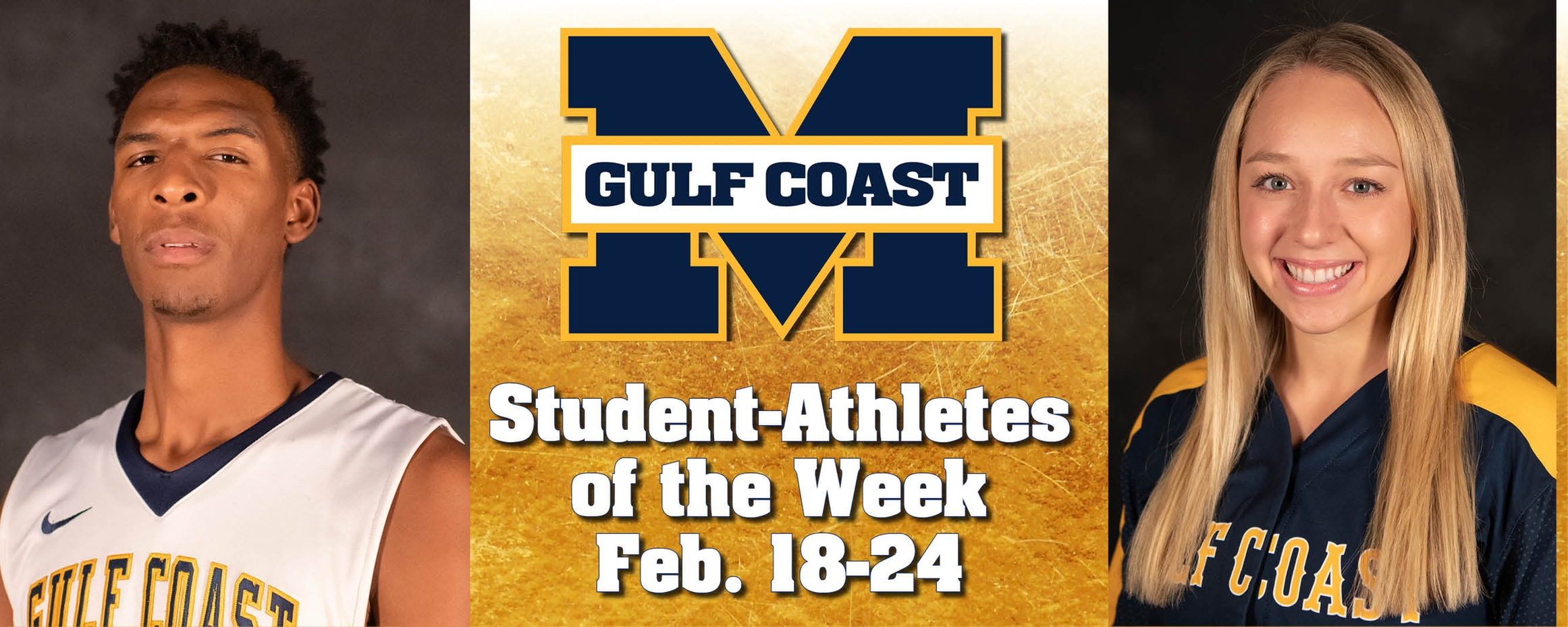 Moorer, Sanders named MGCCC Student-Athletes of the Week