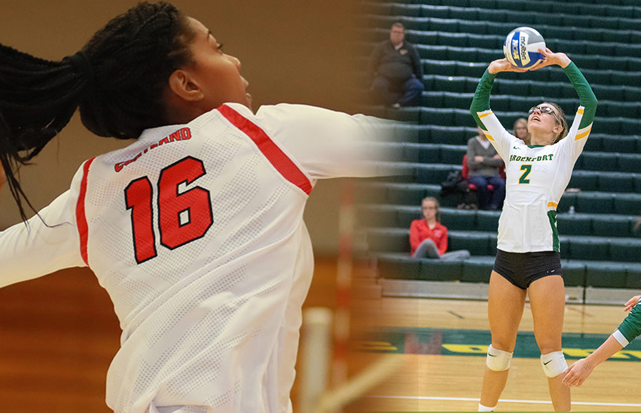 Moore and Mastro picked as this week's PrestoSports Volleyball Athletes of the Week
