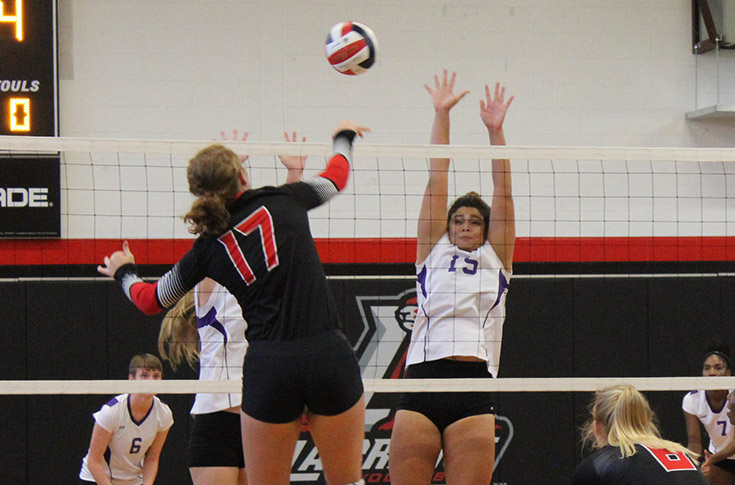 Volleyball: Panthers sweep Wesleyan 3-0 in USA South match Wednesday
