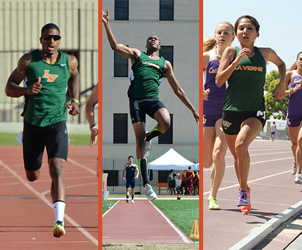 Three Named USTFCCCA West Region Athletes of the Year
