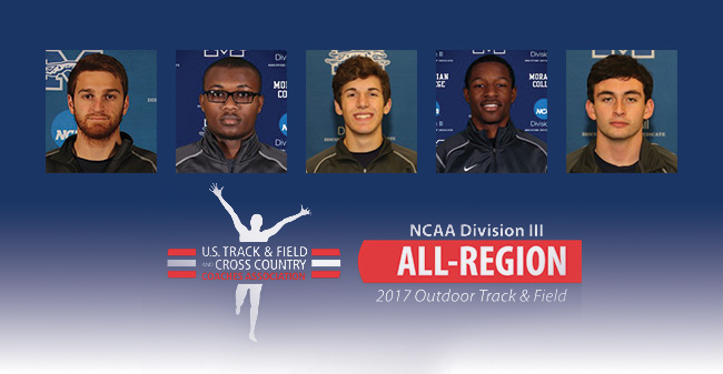 Five Greyhound Men Named 2017 USTFCCCA All-Mideast Region