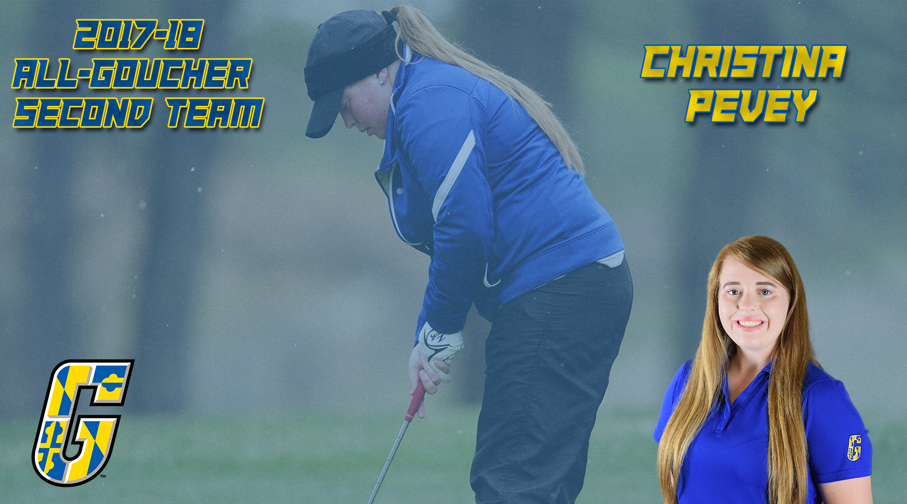 All-Goucher Second Team Selection: Women's Golf's Christina Pevey