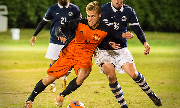 Men's soccer edged by No. 21 Carson-Newman