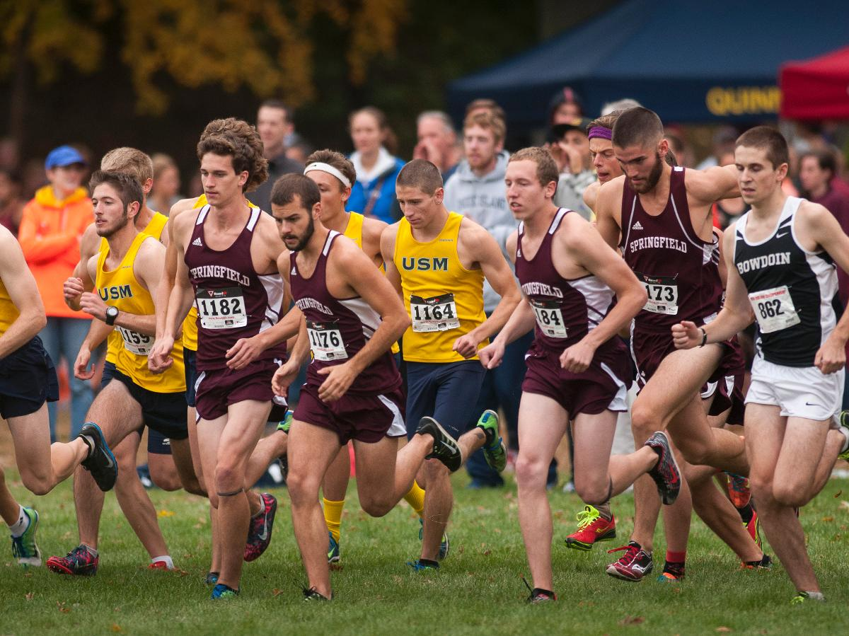 Men's Cross Country Races at Connecticut College
