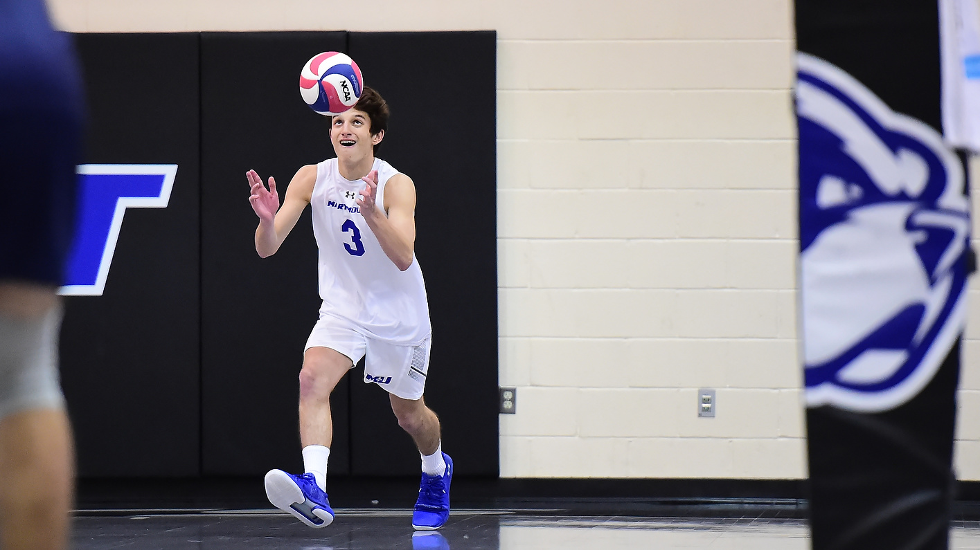 Men's Volleyball Slips In Road Trimatch
