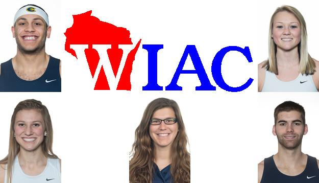 Five Blugolds Earn WIAC Athlete of the Week Honors
