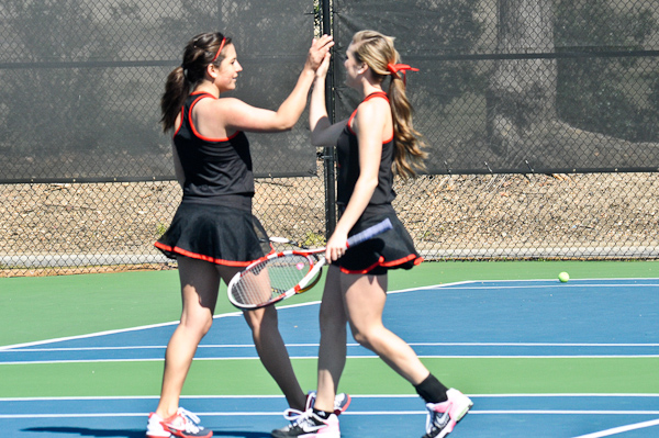 Lady Hawks advance to GSAC tennis finals for 7th straight season