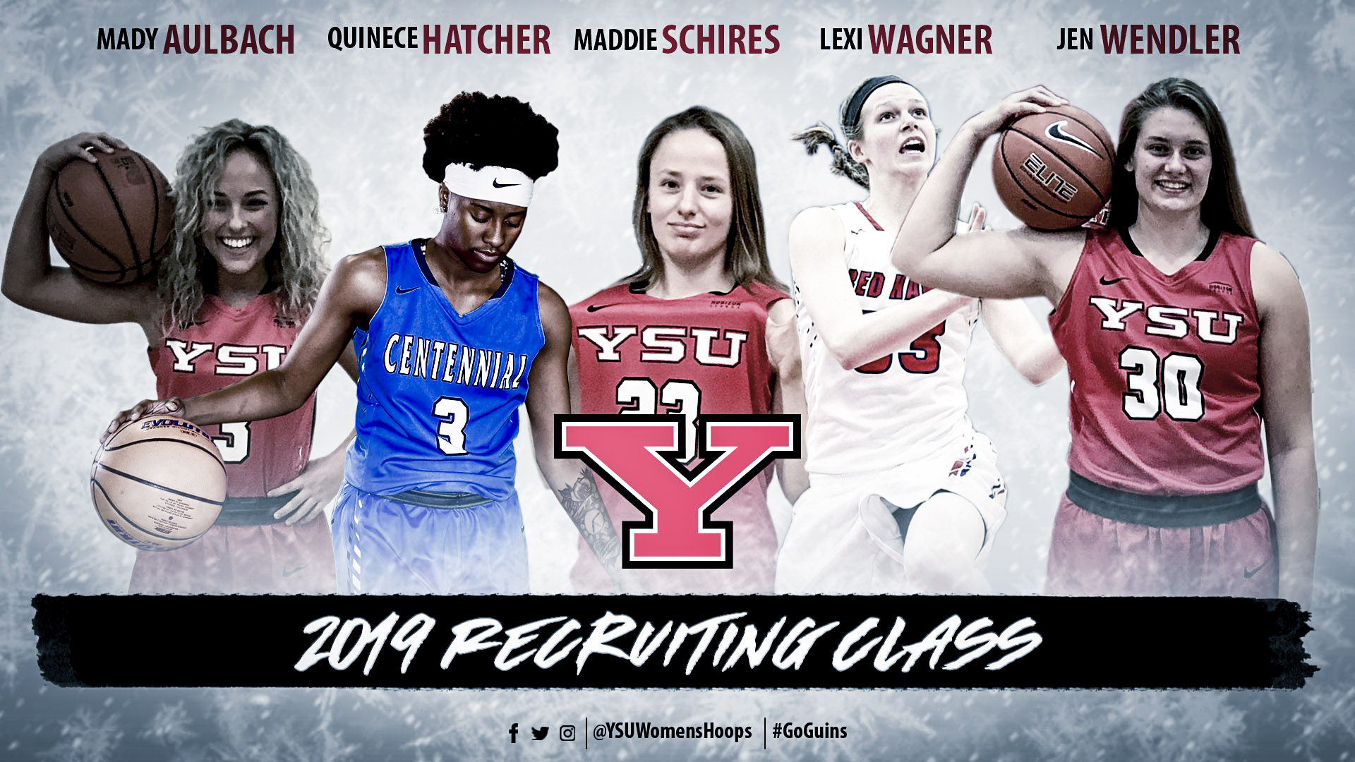 YSU Women's Basketball - 2019 Recruiting Class