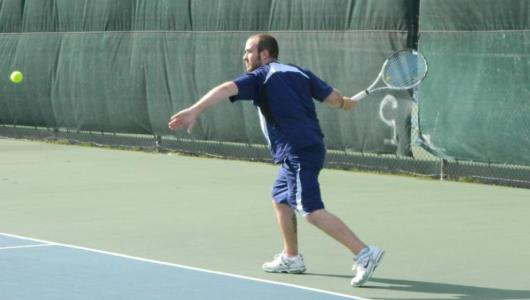 Men's Tennis Knocks Off RIC, 5-4