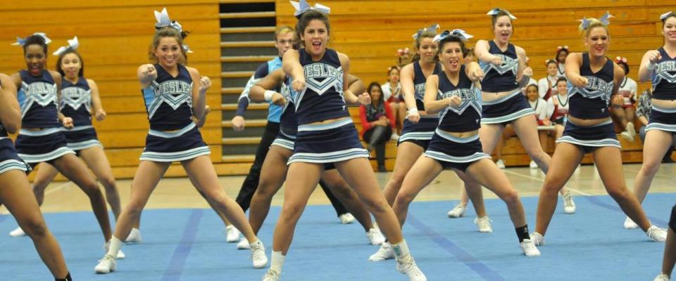 Cheer Places Fourth Among CAC Squads