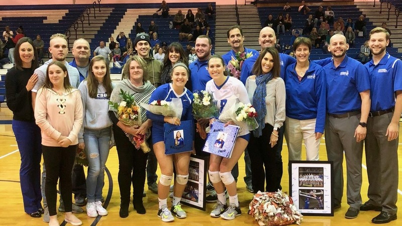 Volleyball Wins on Senior Day, 3-0, Over FDU
