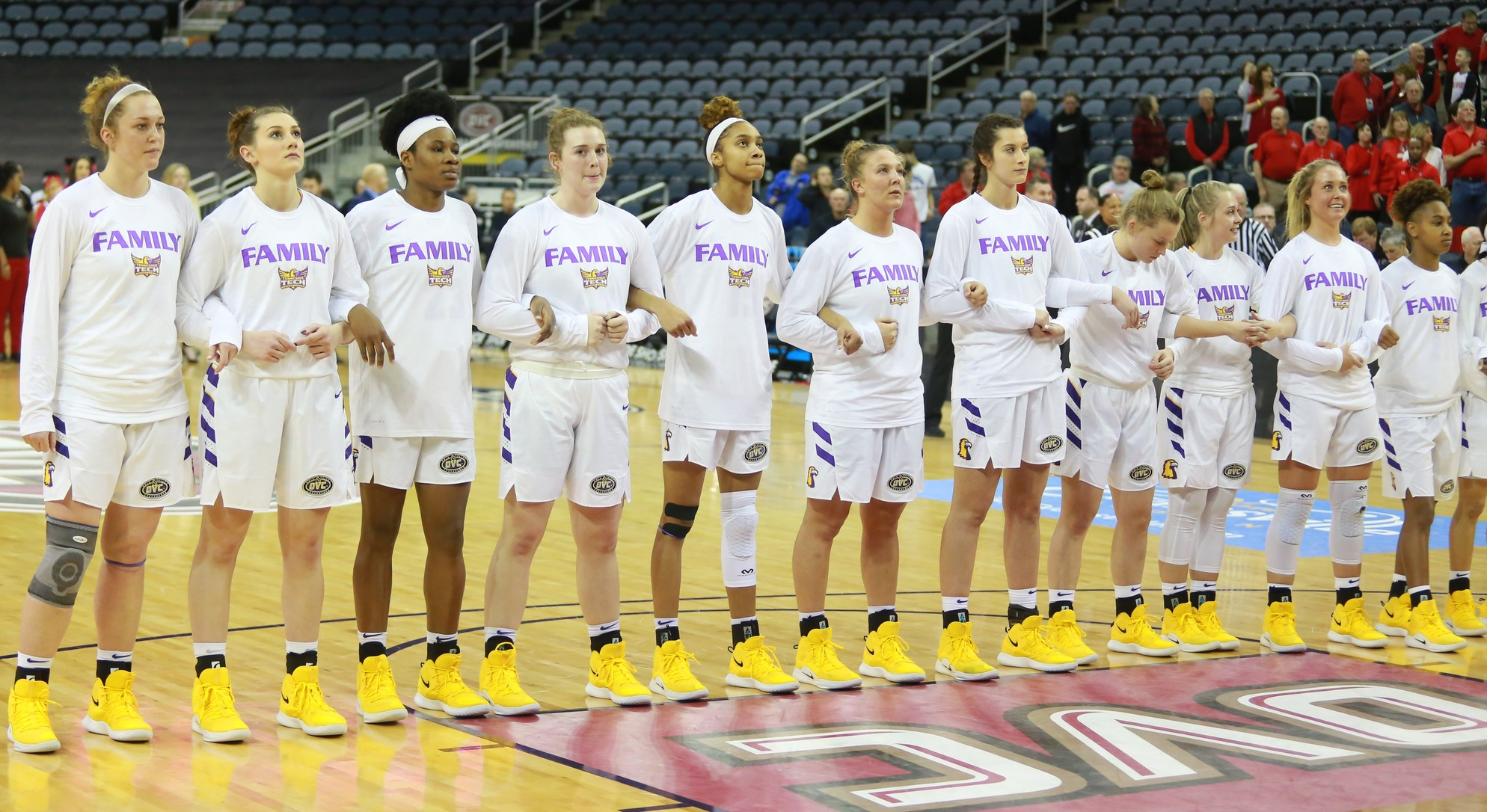 Spend your Thanksgiving weekend with Tennessee Tech women's basketball at the 2019 South Point Thanksgiving Shootout