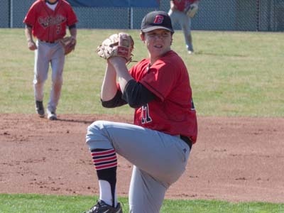 Schroth named Landmark Conference Pitcher of the Week