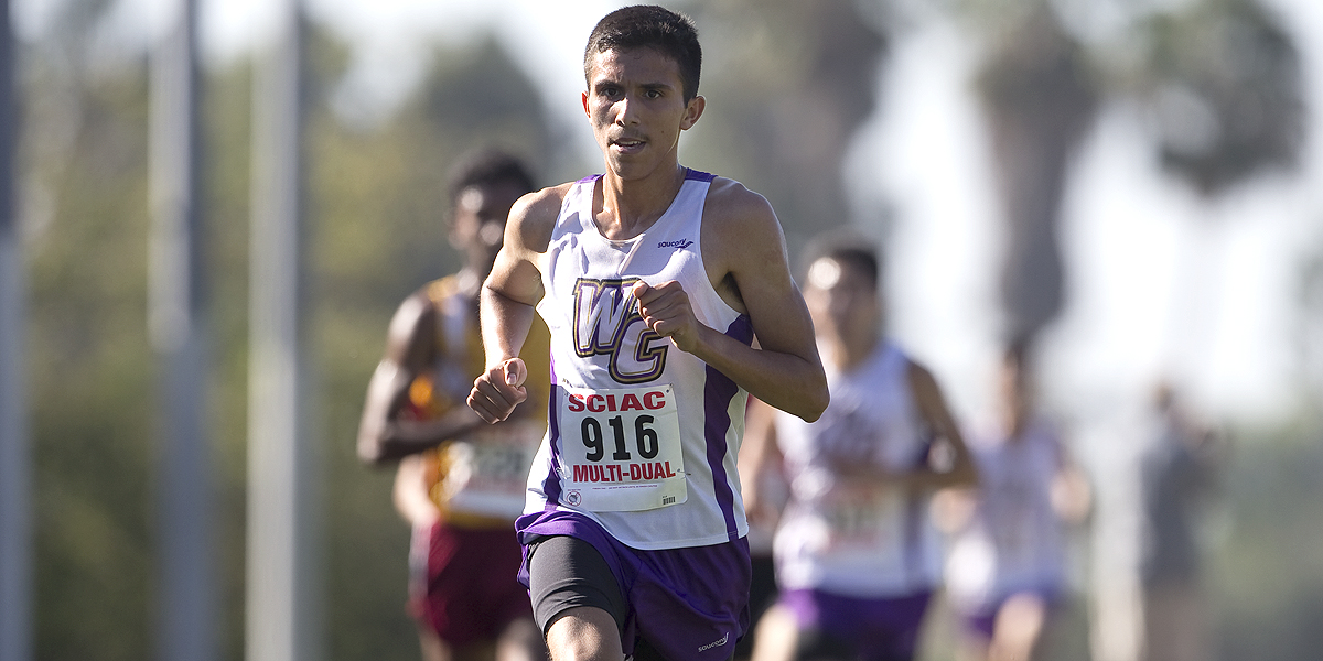Julian Sandoval named SCIAC Athlete of the Week
