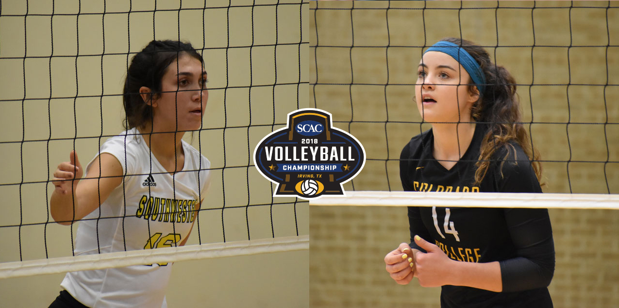 Colorado College and Southwestern to Vie for SCAC Volleyball Crown